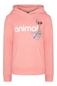 Animal Girls` Hoody Over Head