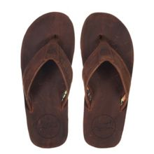 Animal Jekyl Leather flip flop