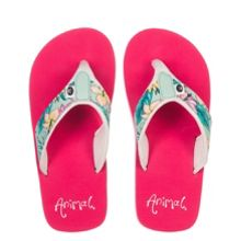 Animal Girls` Swish flip flops