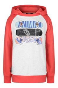Animal Boys` Hoody Over Head