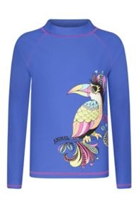 Animal Girl`s Rashie Long Sleeve