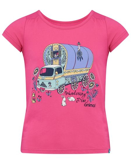 Animal Girls Betsy Bus Graphic T-Shirt