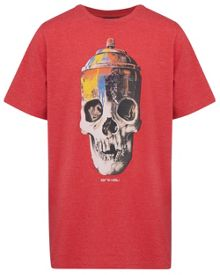 Animal Boys Skeleton Graphic T-Shirt