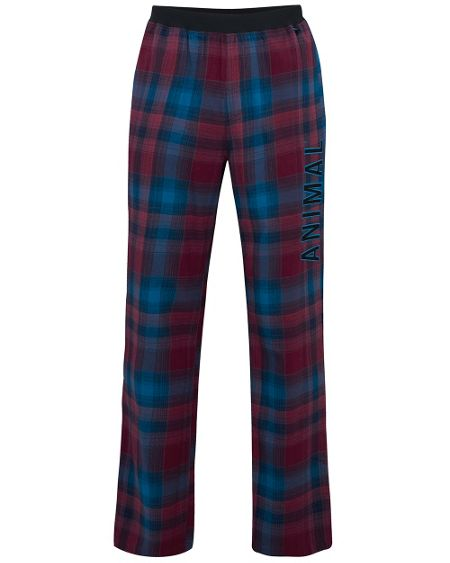 Animal Check lounge pant