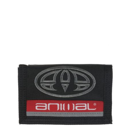 Animal Polyester 3 leaf wallet
