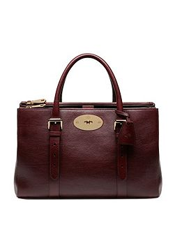 Bayswater double zip tote bag