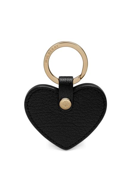 Mulberry Heart keyring