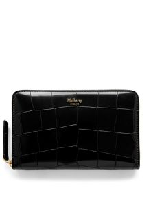 Mulberry Medium zip around wallet