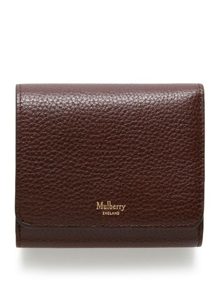 Mulberry Tri-fold continental wallet