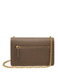 Mulberry Postman`s lock clutch bag