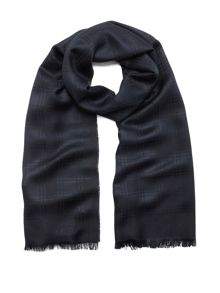 Mulberry Check monogram rectangular scarf