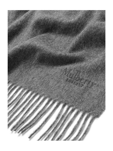 Mulberry Solid lambswool shawl