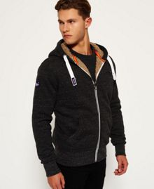 Superdry Orange Label Heavy Zip Hoodie