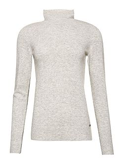 Luxe Skinny High Neck Knit Jumper