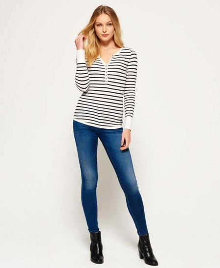 Superdry Essentials Knit Grandad Top