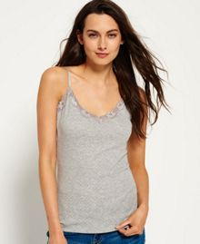 Superdry Essentials Pointelle Cami Top