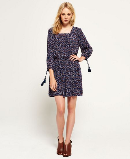 Superdry Topeka Square Neck Dress