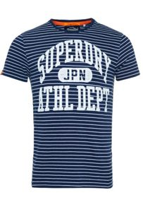 Superdry Athl Dept Indigo Stripe T-Shirt