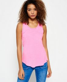 Superdry Ladder Lace Trim Tank Top