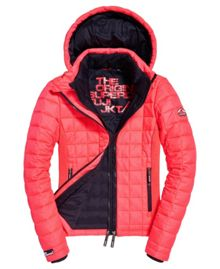 Superdry Hooded Box Quilted Fuji Jacket