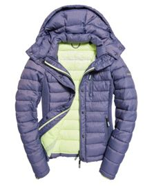 Superdry Slim Fuji Double Zip Hooded Jacket