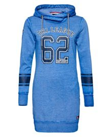 Superdry Tri League Slouch Hoodie Dress