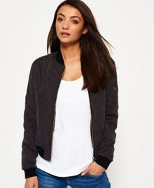 Superdry Dust Quilt Bomber Jacket