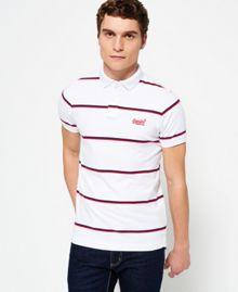 Superdry Echo Beach YD Stripe Polo Shirt