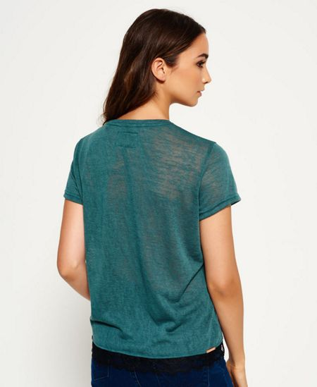 Superdry Nouveau Lace T-Shirt