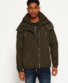 Superdry Microfibre Hooded Wind Attacker Jacket