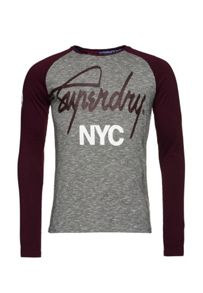 Superdry City Brand Raglan T-Shirt