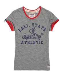 Superdry State Athletic Ringer T-shirt
