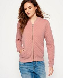 Superdry Beach Micro Jersey Bomber Jacket