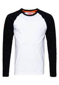 Superdry Orange Label Baseball Top