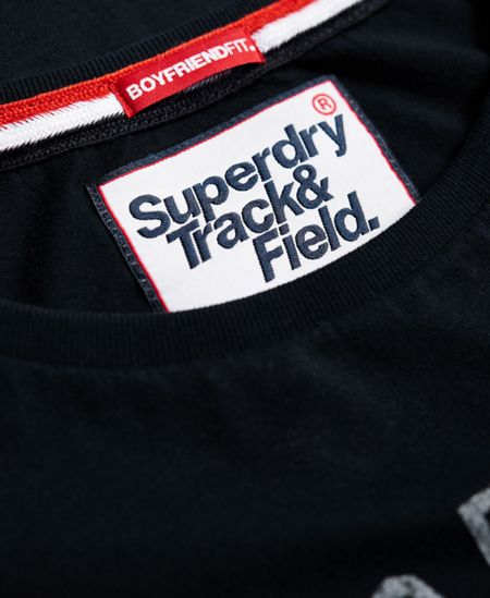 Superdry Track & Field Boyfriend T-shirt