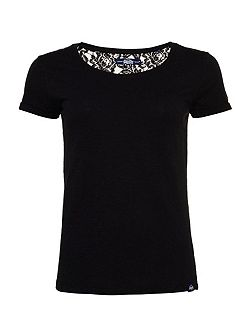 Super Sewn Rugged Lace T-Shirt