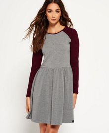Superdry Skater Baseball Dress