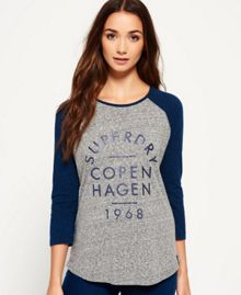 Superdry Nordic Baseball Top