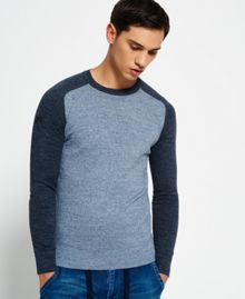 Superdry Premium Cotton City Baseball Jumper