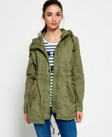 Superdry Classic Rookie Fishtail Parka Jacket