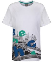 Bench Boys Hazy printed top