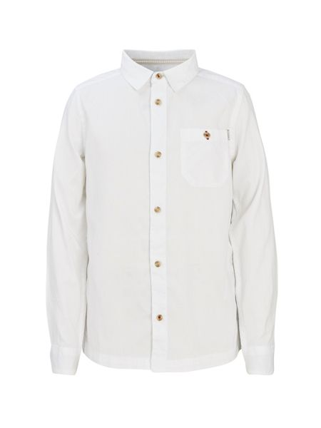 Bench Boys Incitement Button Through Long Sleeve Shirt