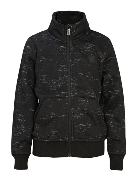 Bench Boys Gibe Funnel Bonded Zip Through