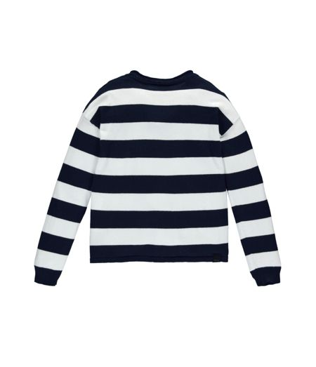 Bench Girls Popit Striped Cotton Jumper