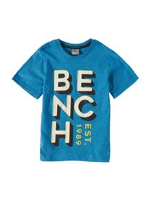 Bench Boys Bench Brand Carrier T-Shirt