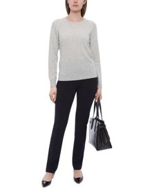 Jaeger Cashmere Cable Knit Sweater