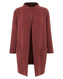 Double-Faced Wool Duster Coat