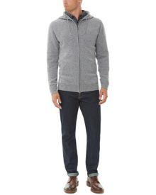 Jaeger Lambswool hooded sweater