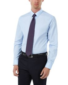 Jaeger Fine end-on-end non-iron shirt