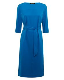 Cocoon Pleated Back Dress